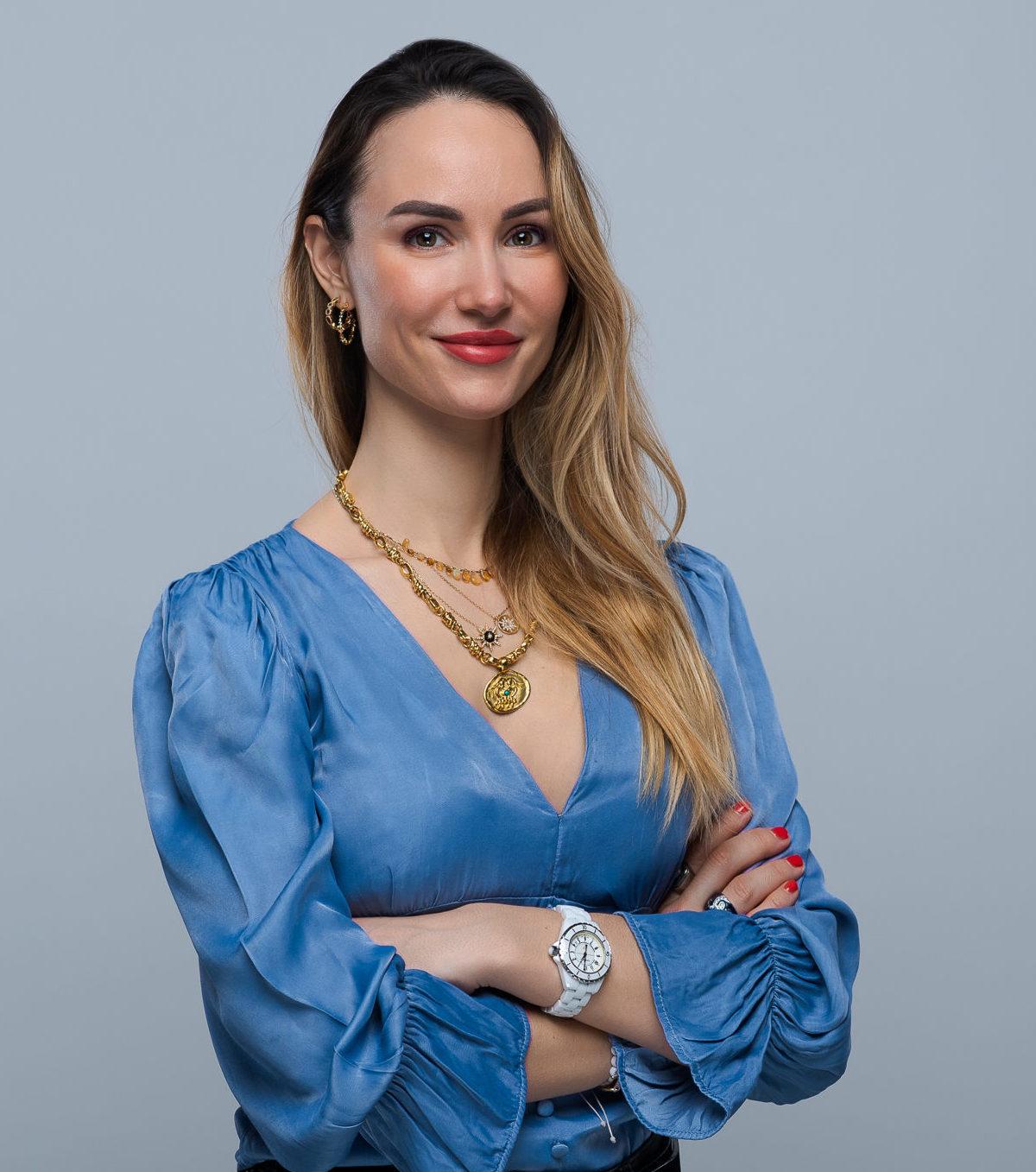 Charlotte Michelin coach et fondatrice de POTENCIA Paris